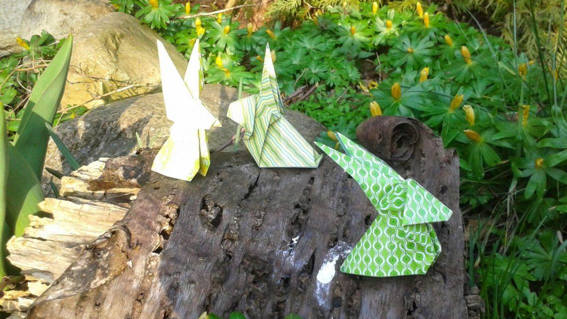 Origami-Ostern