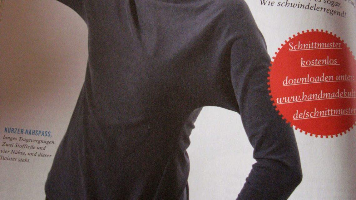 Twist-Shirt – aus der Flopkiste