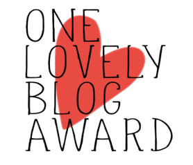 ONE (more) LOVELY BLOG AWARD