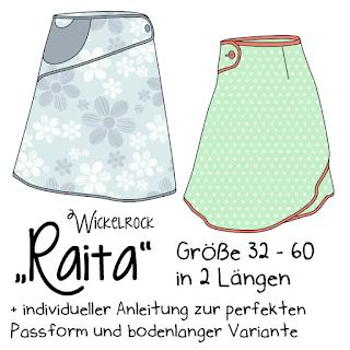 Wickelrock mit Pfiff – Raita