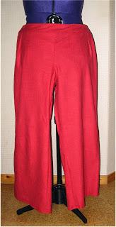 Dauer Ufo – Hose in rot