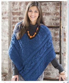 Der Poncho, der ein Pullover werden wollte