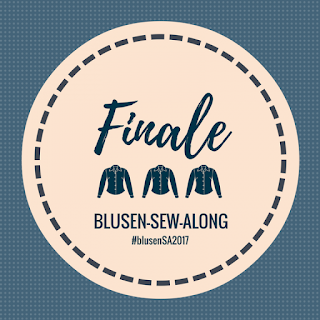 Blusen Sew-Along 2017: Geschafft!