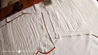 Abgenommen (oder: der Klon) – Sommerhose aus Leinen