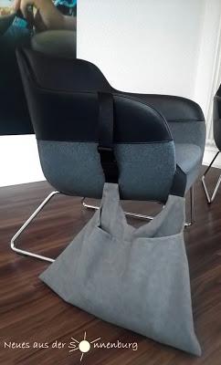 Crafteln - Heldinnentasche - Softshell - Tasche nähen - Panierbag