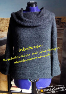 Inbetween-Kuschelpullover-Damenpullover-Drops Air-Strickanleitung-Damenpullover stricken-Winterpullover stricken
