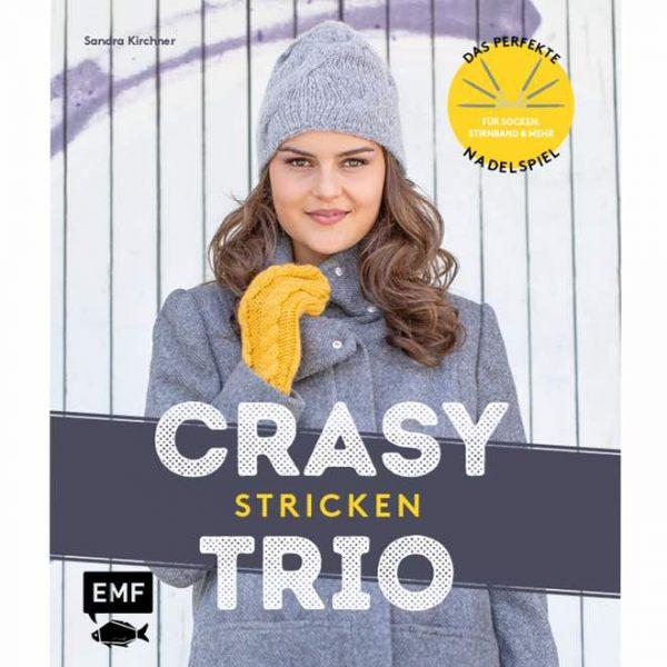 Crasy-Trio-Stricken-Sandra Kirchner - meine Fabelhafte Welt - Buchcover