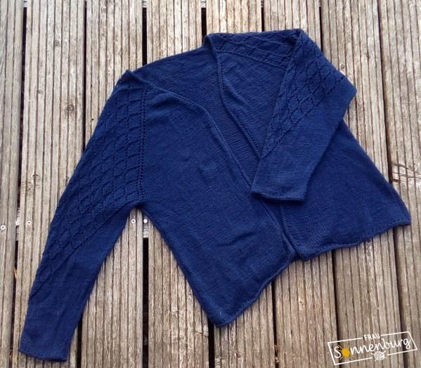 LaceBine Cardigan (Teststrick)