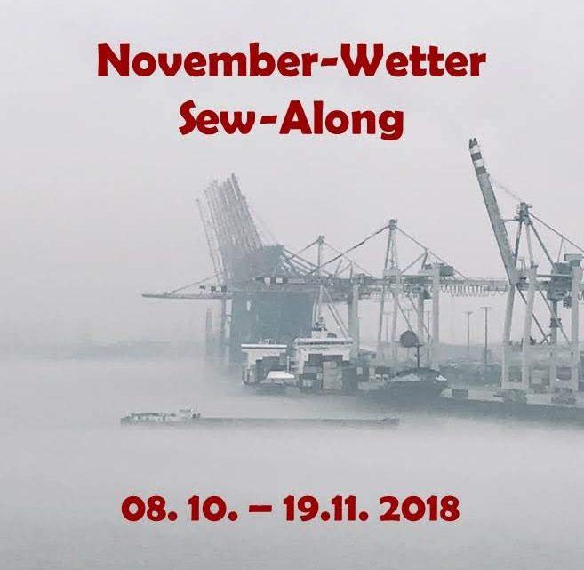 Novemberwetter-Sew-Along: Ich bin auch dabei!