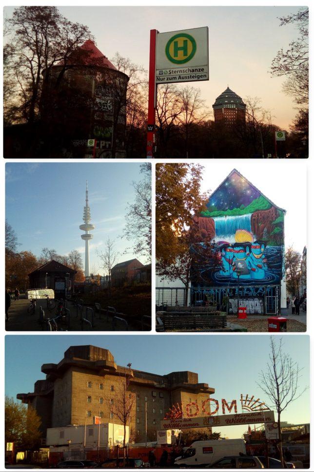 Nähbloggertreffen Hamburg - Schanzenviertel - Stadtführung - Sternschanze