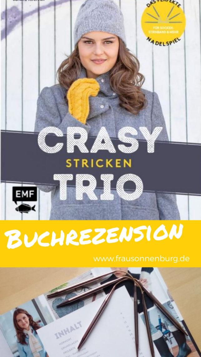 Crasy-Trio-Stricken-Sandra Kirchner - meine Fabelhafte Welt - Rezension
