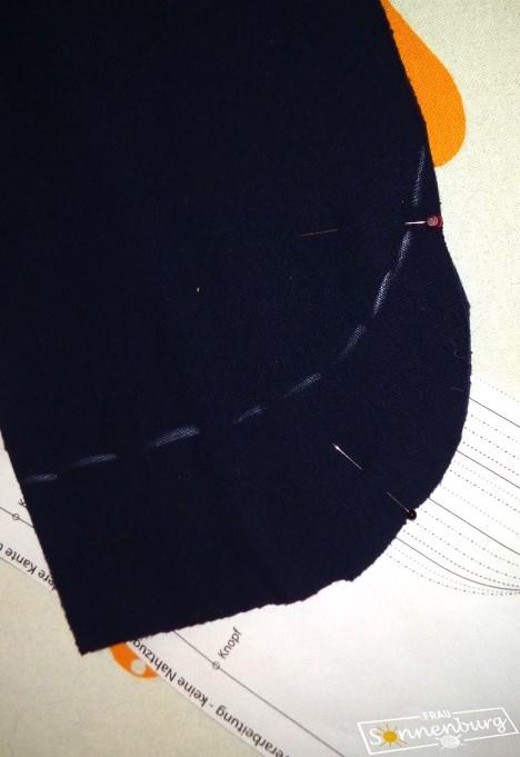Schnieke Wiebke - Echt Knorke - Sweatblazer - Sweatblazer nähen - Damenblazer - Änderung