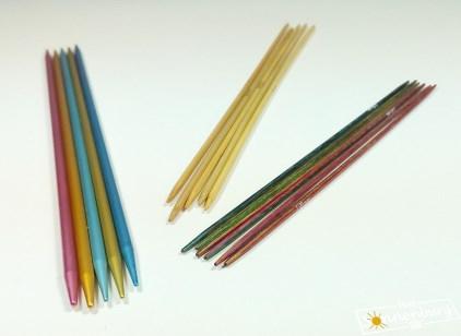 Nadelspiel - AddiColibri - Bambus - KnitPro Symfonie - Stricken in Runden