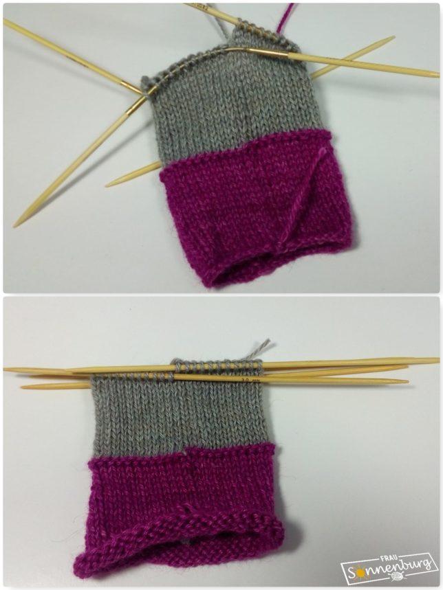 Stricken in Runden - Nadelspiel Bambus - Crasy Trio Bambus - Vergleich - Handschuhe stricken