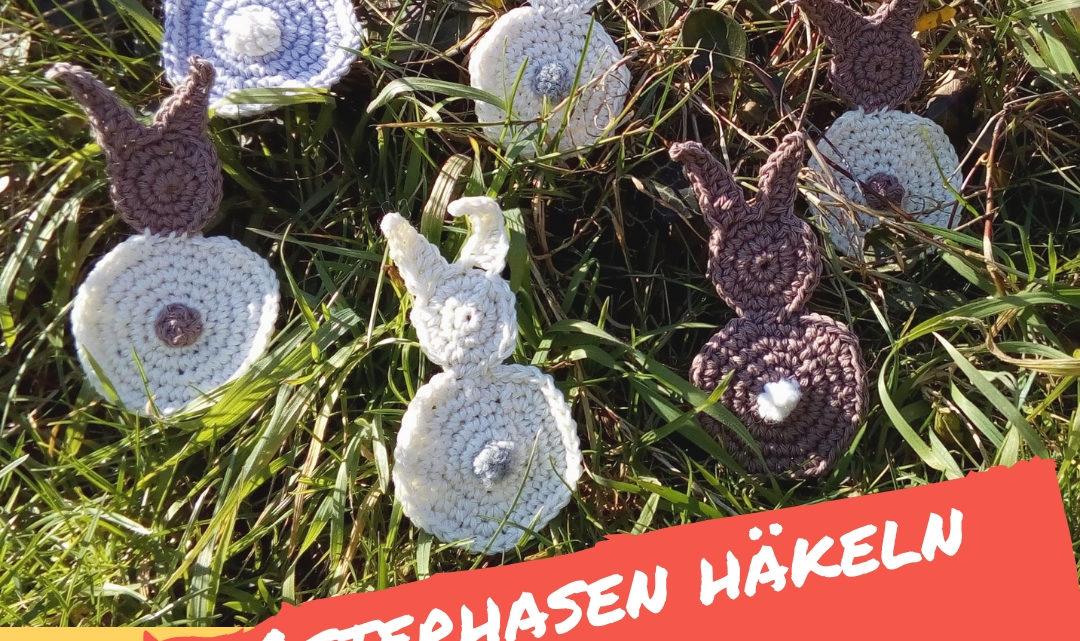 Osterhasen häkeln – ganz einfach!