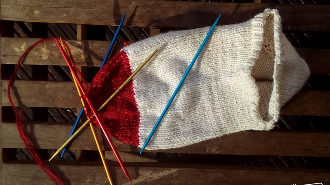 Stricken in Runden Teil 5: Socken stricken