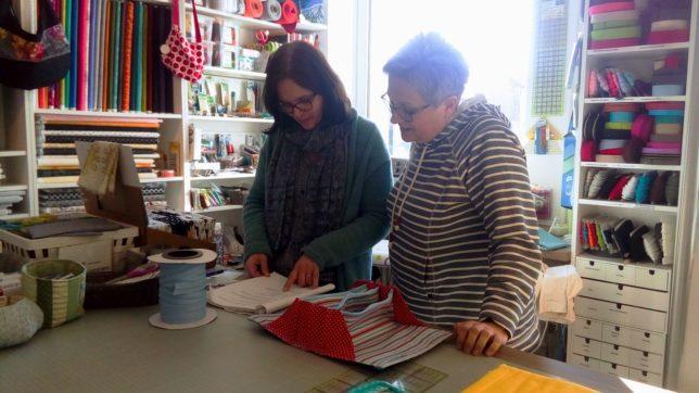 Ariane B - Handarbeitsgeschäft - Patchwork - Stricken - Wolle