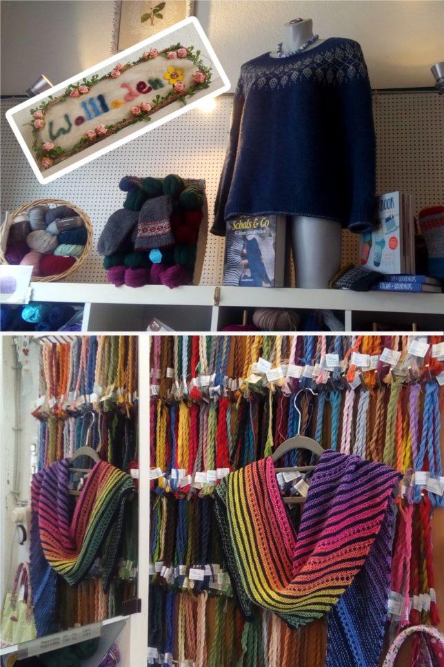 Der Wollladen - Lydia Fischer - Ratzeburg - #visityourlys - Modelle
