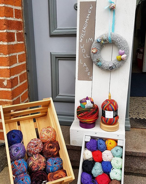 Der Wollladen RZ - Lydia Fischer - Eingang