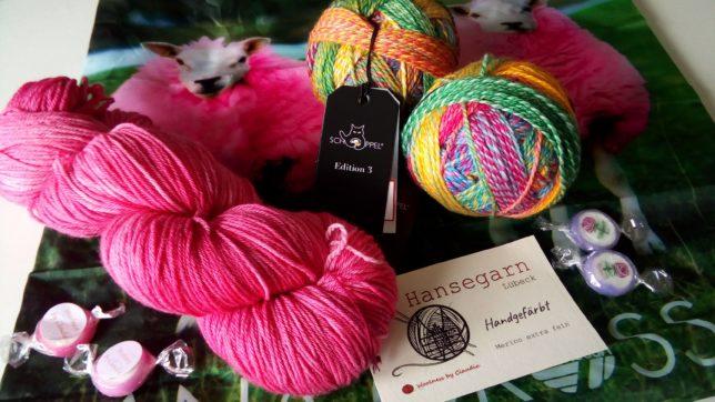 Hansegarn - Schoeppel - Zauberball - Woolness bei Claudia - visityourlys