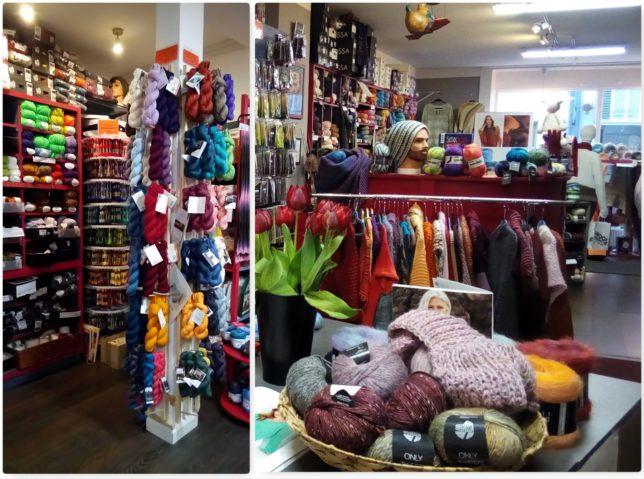Ladengeschäft- Woolness bei Claudia - visityourlys