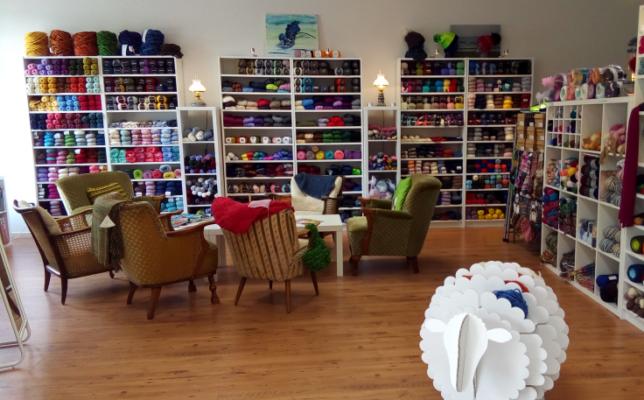 Visityourlys - Wolle und So - Laden von innen