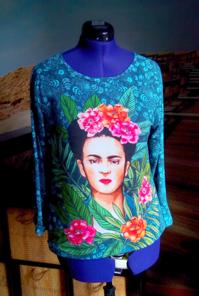 Ottobre - Solid Striped - Frida Kahlo - Lillestoff - Modal