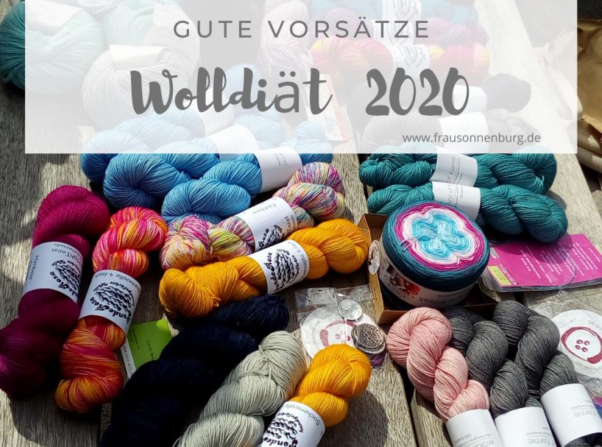 Wolldiät 2020 – gute Vorsätze!