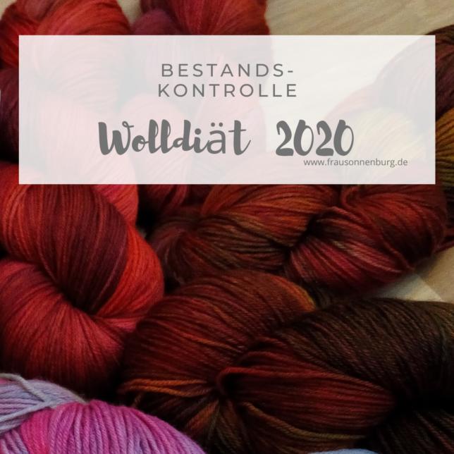 Wolldiät 2020 - Bestsandskontrolle