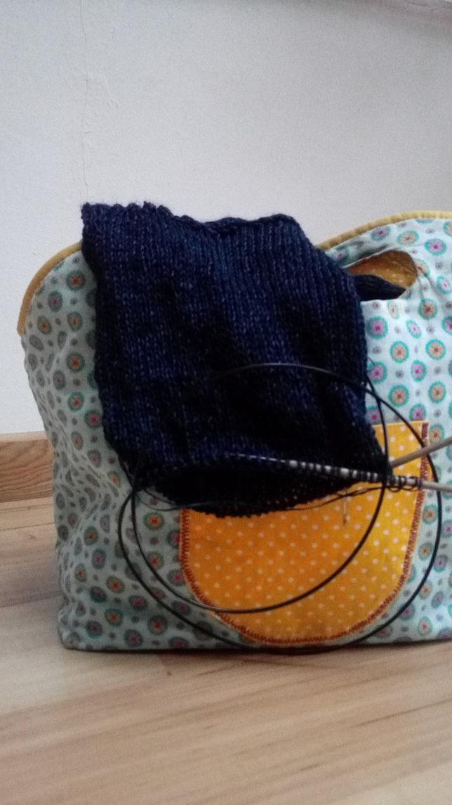 Frühlingsjäckchen-Knit-Along - V-Neck Boxy - Ärmel