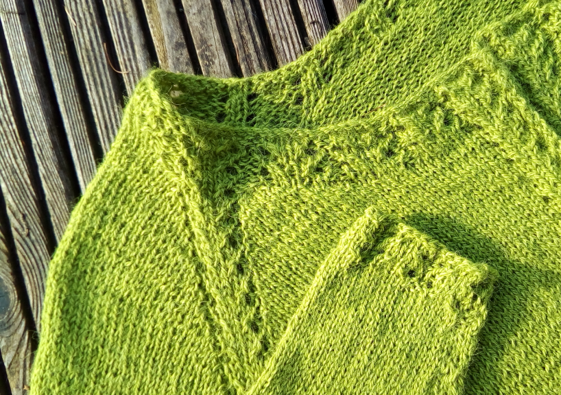 Neues Design: Cardigan INTIKA
