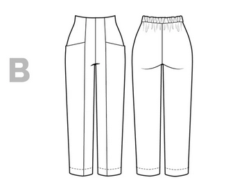 Pietra Pants - Closet Core Patterns - Schema