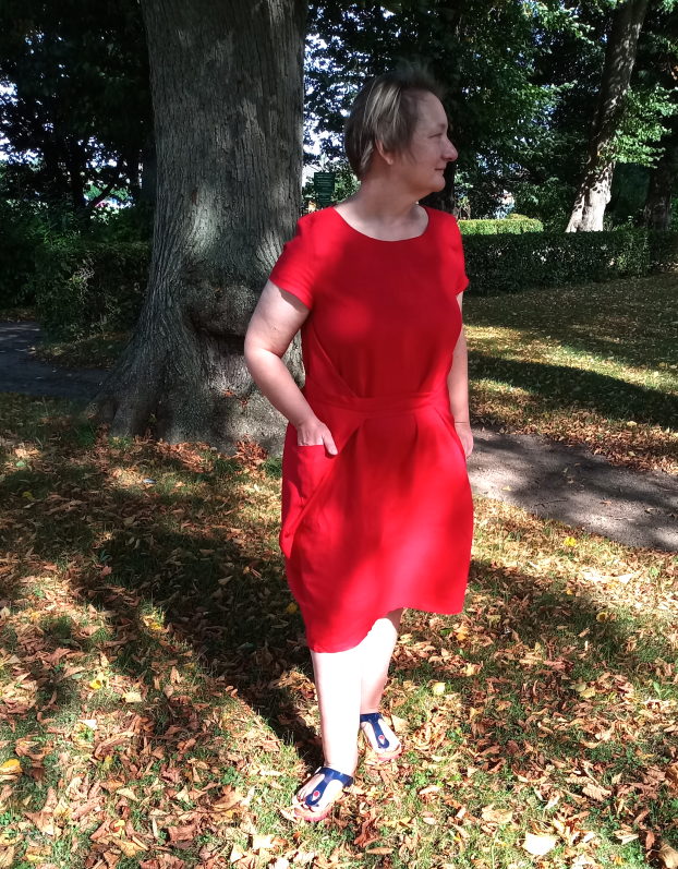 Kielo Wrap Dress - Tragefoto