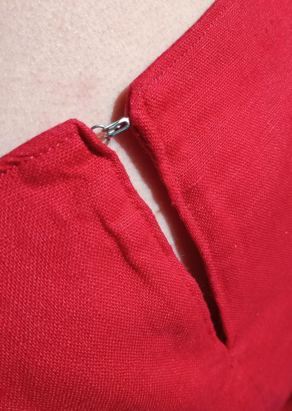 Kielo Wrap Dress - Verschluss
