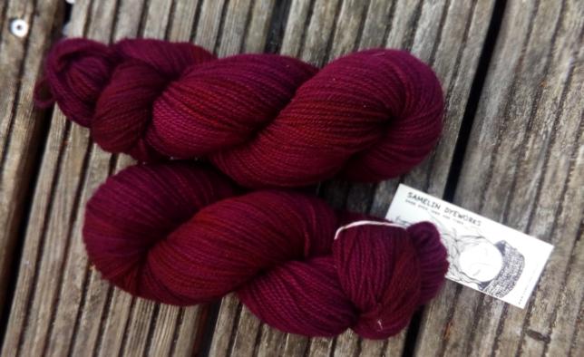Grosse Wolle Merino Classic - Samelin Dyeworks - Gimme Some Lovin' - Deutsche Merinowolle