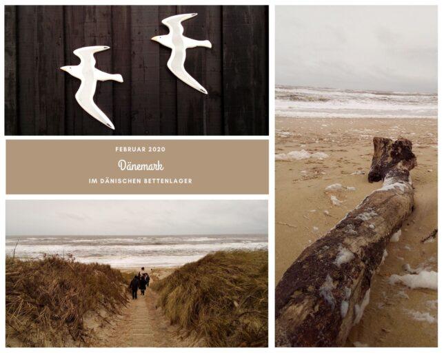 Jahresrückblick 2020 - Februar - Dänemark - Strand - Nordseeküste