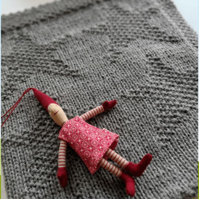 oceanandyarn - Bloginterview - SternenMeer - Babydecke - Decke mit Sternenmuster