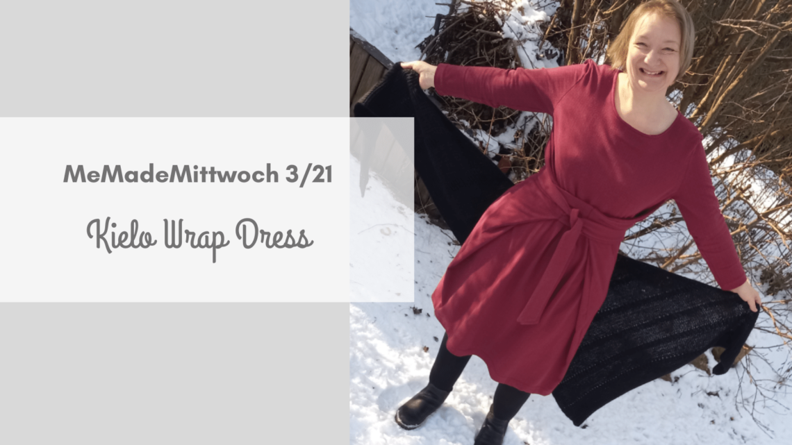 Named Clothing: Wintertaugliches Kielo Wrap Dress