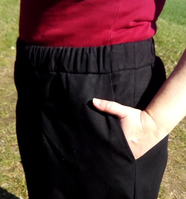 Pirkko Pants - Rosa P. - Hosenbund - Tasche