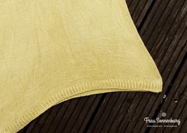 Modellstrick - Sommershirt - DAmenshirt - Pascuali Cumbria - gelb