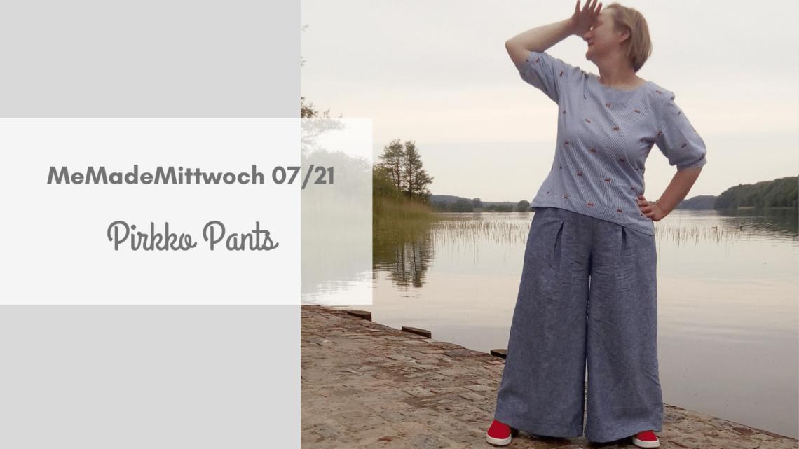Pirkko Pants für den Sommer