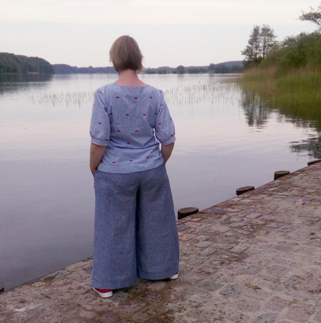 Pirkko Pants von Rosa P - Culotte - Hosenrock - Großer Segeberger See
