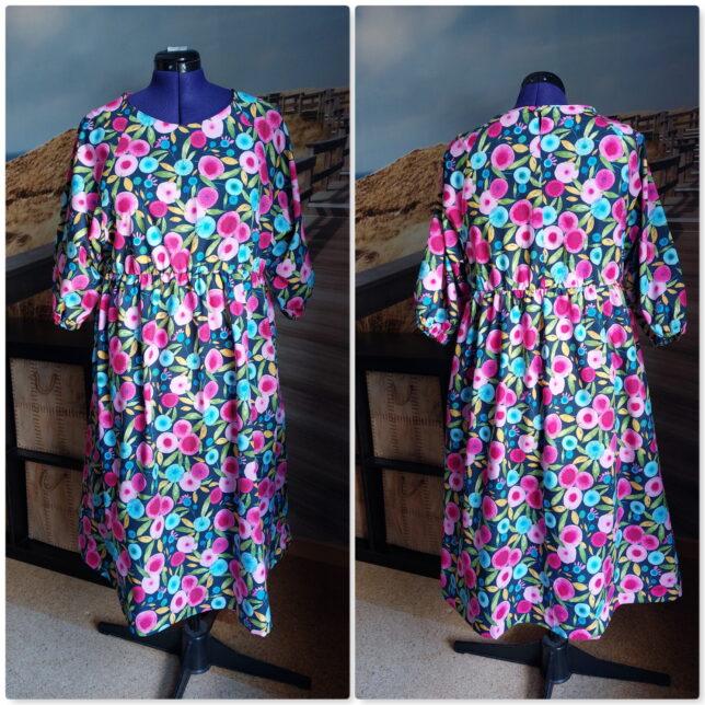 Hope Woven Dress - Style Arc - Blumenmuster