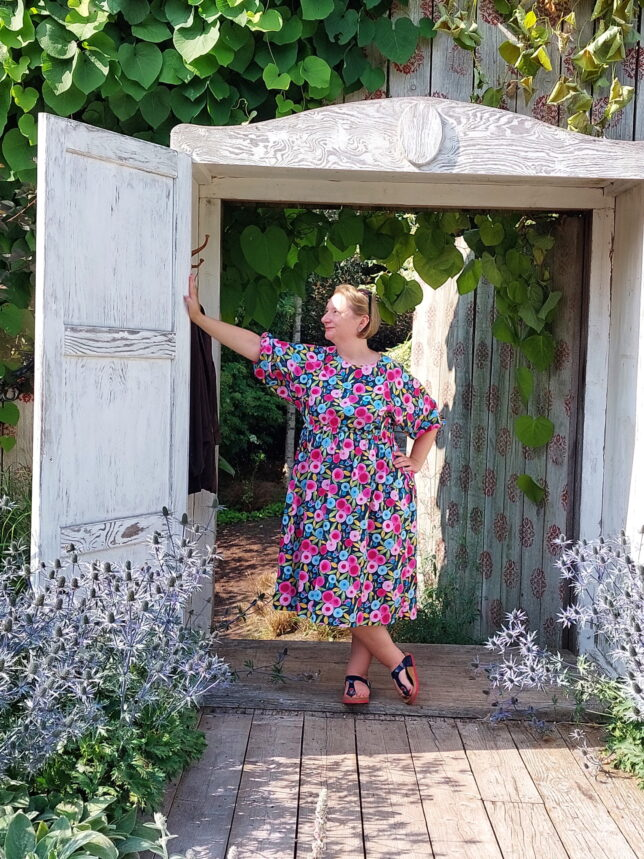 Style Arc - Hope Woven Dress - Blumenmuster - Sommerkleid