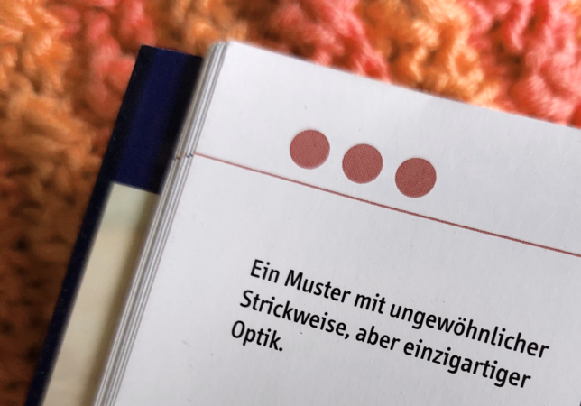 Spültücher stricken - Sandra Fischer - Schwierigkeitsgrade